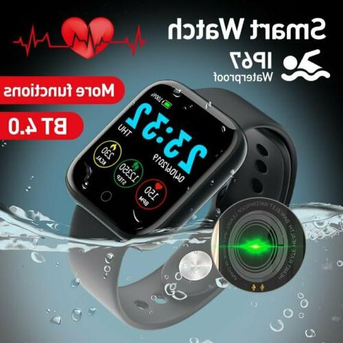 Waterproof Smart Men Bracelet For iPhone Android