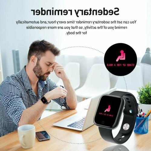 Waterproof Smart Watch Men Bracelet For iPhone Android
