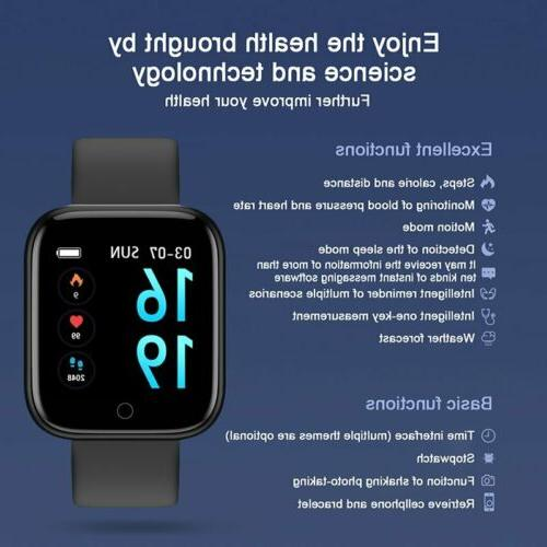 Waterproof Smart Watch Men Rate Bracelet For iPhone
