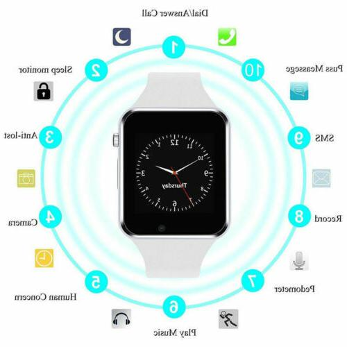 Smart Wrist Watch A1 Camera GSM For Android iPhone US