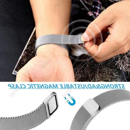 Stainless Mesh Band Milanese Strap For Smart Watch