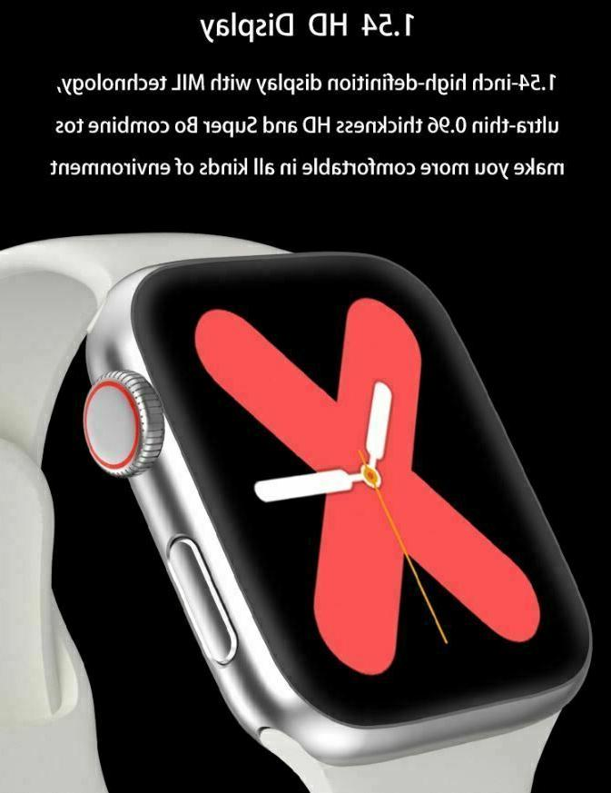 Smart Watch for iPhone iOS Android Phone Bluetooth Waterproof