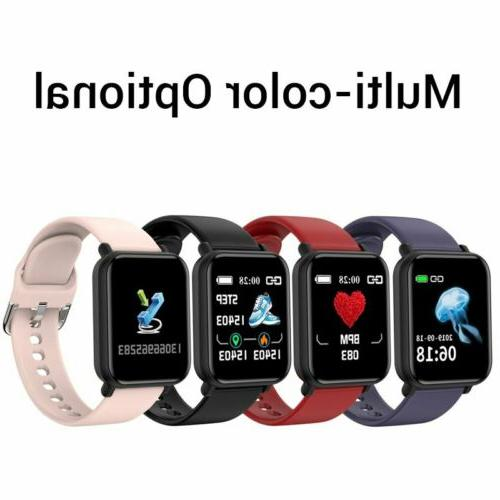 Touch Smart Watch Men Rate For Android Waterproof US