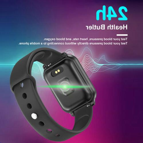 Touch Smart Watch Men Rate Bracelet For iPhone