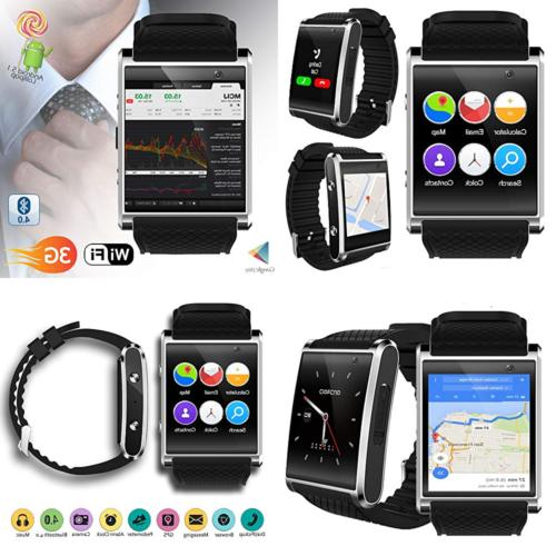 Indigi Exclusive 3G Unlocked Android 5.1 OS Smart Watch Phon