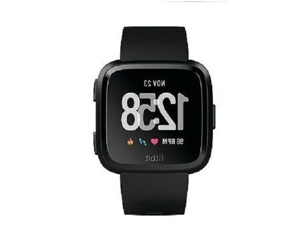 Fitbit Versa Smart Black One Size Small & Large