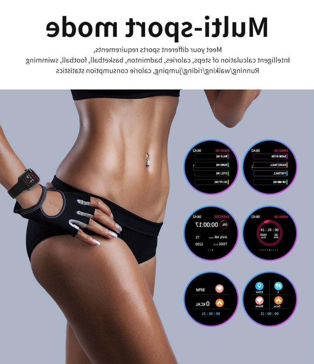 W54 Series 4 Style Bluetooth Heart Monitor IOS Android