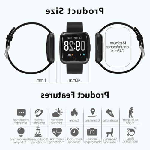 Water Resistant Watch Heart Rate iOS