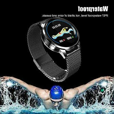 Waterproof Smart Watch Blood Pressure Monitor for