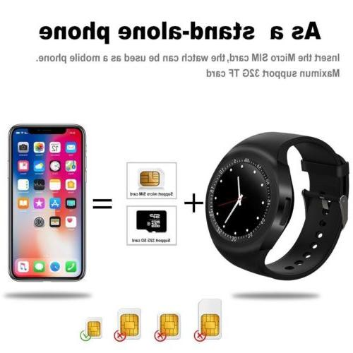 Waterproof Smart Watch Phone For Android IOS iPhone Y1