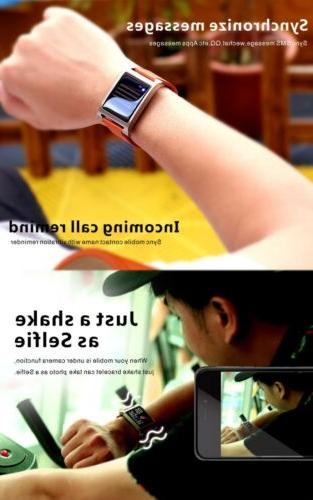 Waterproof Smart Watch Call Compatible with iOS