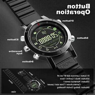 Bluetooth Waterproof Sport Fitness Watches for