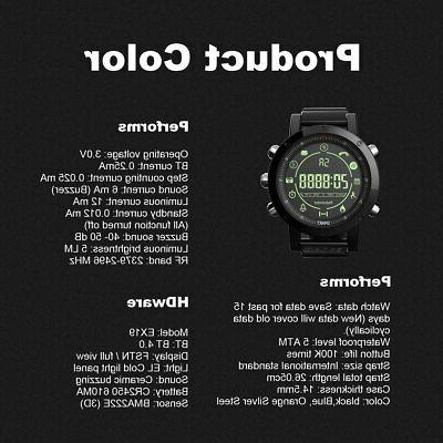 Waterproof Smart Watch Tracker For IOS Android