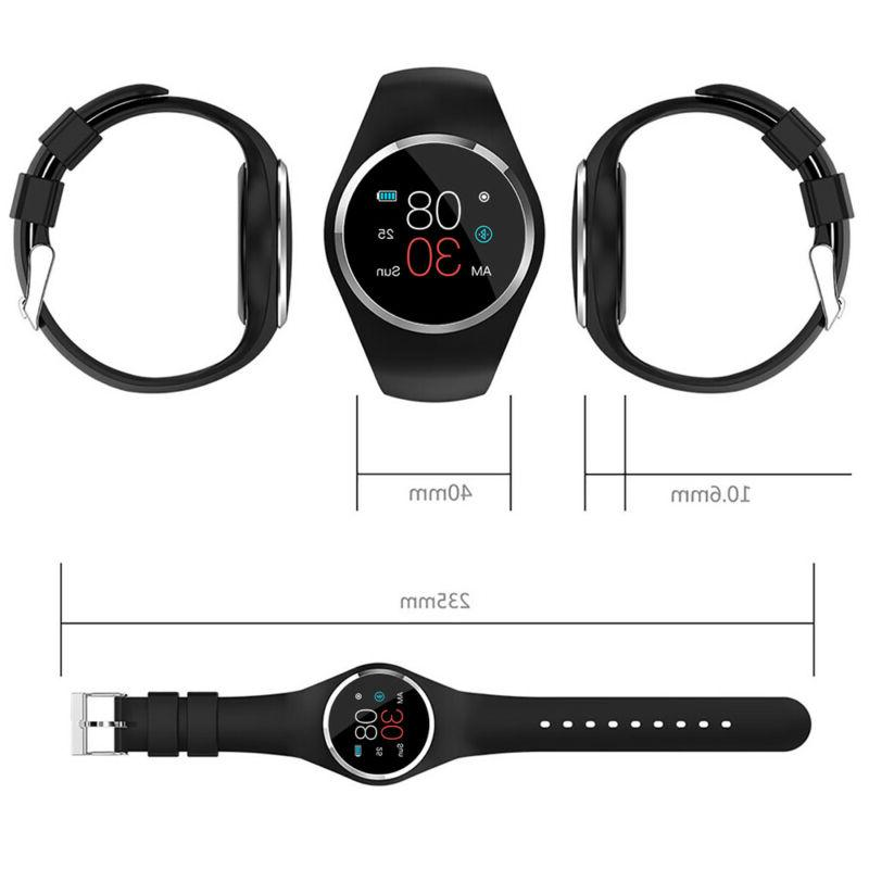 Women Girl Bluetooth Smart Watch Rate For