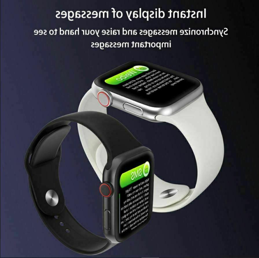 Women Men Smart Heart Rate Wristwatch Android