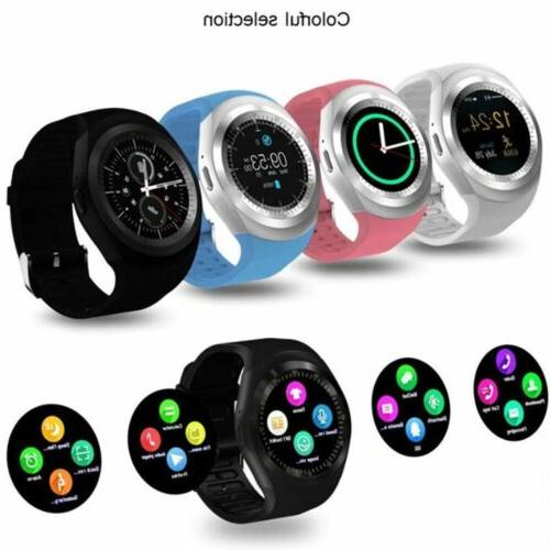 Waterproof Bluetooth Smart Watch Phone Mate For Android IOS