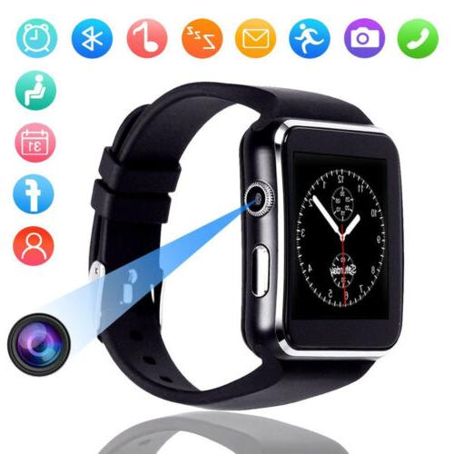 X6 Screen Bluetooth Smart Watch for iPhone