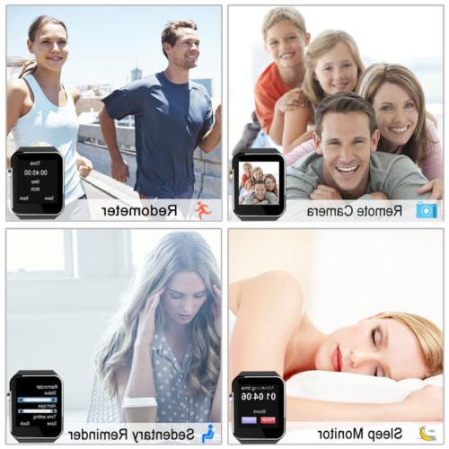 X6 Curved Smart Wrist for Samsung iPhone