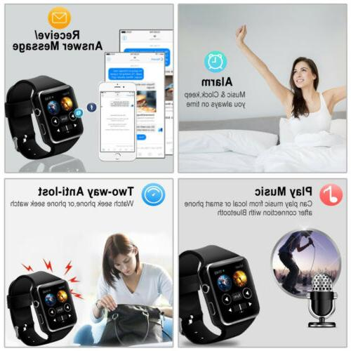 X6 Curved Screen Bluetooth Smart Wrist for iPhone