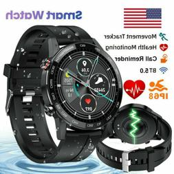 L9 Smart Watch IP68 PPG ECG Blood Oxygen Pressure Heart Rate