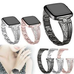 Lady Rhinestone Bling Replacement Wrist Band Watch Strap For
