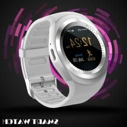 Blue-tooth Smart Watch Phone Mate compatible with Android an