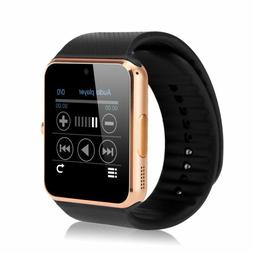 Latest Bluetooth Smart Watch with Camera Text Call Mic for i