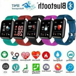 LEMFO Heart Rate Blood Pressure Smart Watch Fitness Tracker