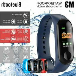M3 Smart Band Watch Bracelet Fitness Activity Tracker Sport