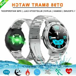Men's Bluetooth Smart Watch ECG PPG Heart Rate Blood Pressur
