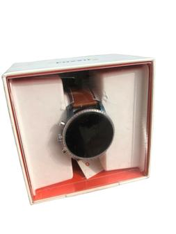 Fossil Men's Gen 4 Explorist HR Stainless Steel and Leather
