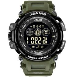 SMAEL Men's Smart Watch Outdoor Sport Digital Pedometer Came