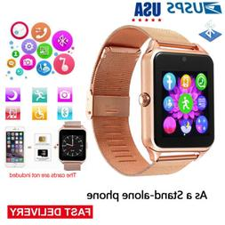 Men Smart Watch Sync Message Women Smartwatch Phone for iOS
