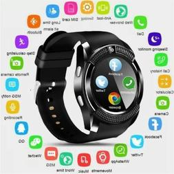 Men Women Smart Watch Sport Wristband Phone Mate for Samsung