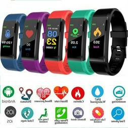 Men Women Sports Bluetooth Smart Watch Fitness Tracker Brace