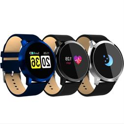 Men Women Waterproof Blue-tooth Smart Watch Phone Mate For A