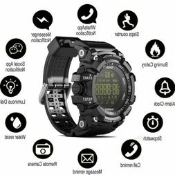 Mens Sports Waterproof Fitness Bluetooth Electronic Smart Wa