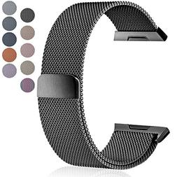 Maledan Metal Bands Compatible with Fitbit Ionic, Stainless