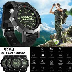 Military Smart Wrist Watch Camera Bluetooth Sport Fitness Tr