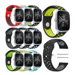 New 22mm Silicone Sport Bracelet Watch Strap Band for ASUS z