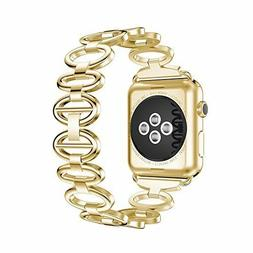 New ANCOOL Apple Watch Band Elliptical Style Stainless Steel