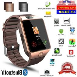 New Bluetooth Smart Watch & Phone with Camera For iPhone Sam