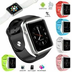 NEW BlueTooth Smart Watch w/Camera for iPhone Samsung LG HTC
