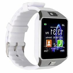 New!! Padgene DZ09 Bluetooth Smart Watch with Camera White