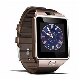 New Gold Bluetooth Smart watch for Samsung Galaxy s6 s7 Edge