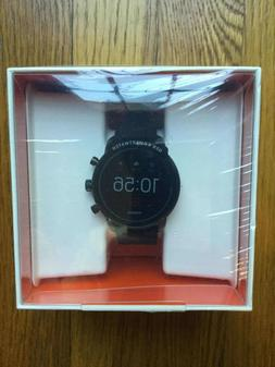 NEW Mens Smartwatch FOSSIL EXPLORIST HR FTW4018 Black Touchs
