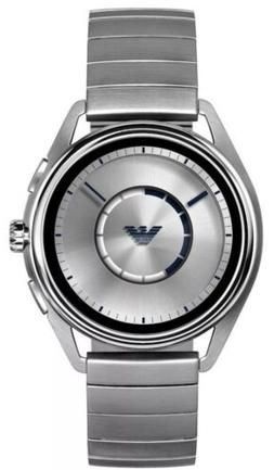 NEW! Emporio Armani Silver Stainless Steel Men's Smartwatch