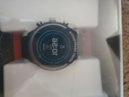 NEW! Fossil Sport Touchscreen Sport Watch Black Silicone Str