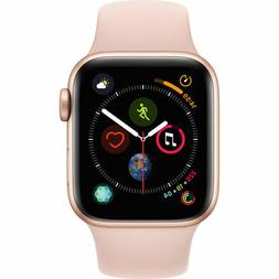 NEW APPLE WATCH SERIES 4 40MM ROSE GOLD ALUMINUM CASE PINK S