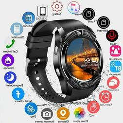 Waterproof Bluetooth Smart Watch Phone Mate Fitness Tracker